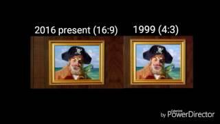 SpongeBob theme song Comparison
