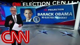 Election night 2012 unfolds on CNN