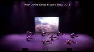 Peter Dehing Dance Studio's 2015, dans en musical show, moderne dans