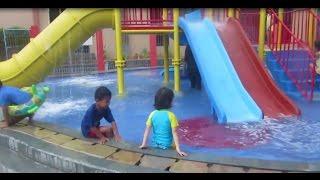 BERENANG BERSAMA SAMBIL BERMAIN | WATERPARK KIDS PLAYGROUND