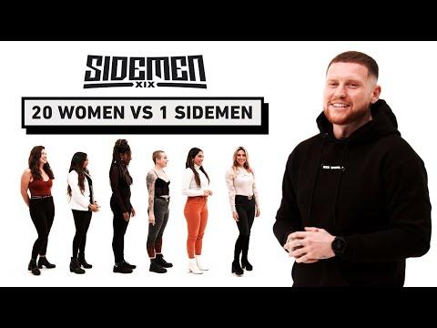 20 WOMEN VS 1 SIDEMEN ETHAN EDITION