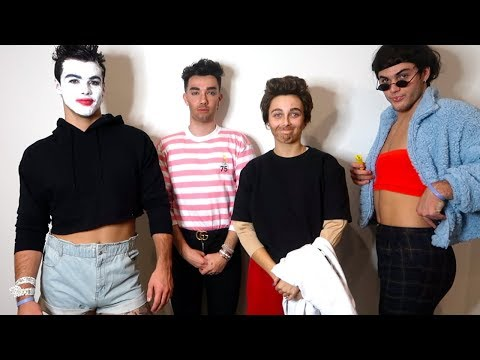 Xxx Mp4 DRESSING UP AS EACHOTHER Ft Dolan Twins Amp James Charles 3gp Sex