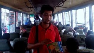 Book Hoker in Bus......গোপাল ভাড়,কালিদাস পন্ডিত,বিশ্ব বিচিএা