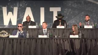 Conor McGregor not impressed by Jeremy Stephens call out at UFC 205 press conference