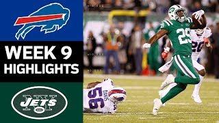 Bills vs. Jets   NFL Week 9 Game Highlights