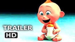 Incredibles 2 Official Baby Jack TV Spot Trailer (2018) Animation Movie HD