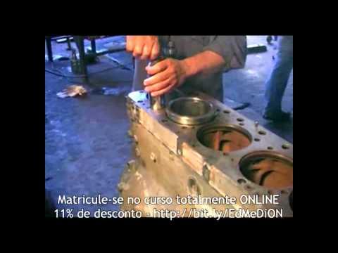 Curso de Mecânica Diesel Como montar o motor do caminhão Scania 113 EDUBRAS online.
