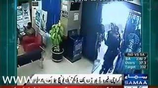 Desafios - Cctv imágenes de robo de banco karachi firozabad