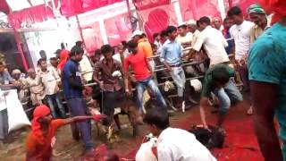 Sabaila bazar Durga mala ko blidan
