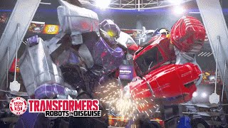 Transformers Battle Masters: Fight Night - Optimus Prime vs. Megatron