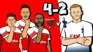 🔴4-2! Arsenal vs Tottenham🔴 (Goals Highlights of North London Derby 2018)