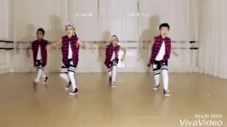 kid dancing on I wear speedo