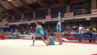 Charlotte, Amicie et Marine - GAC Trio Junior - Dynamique 2016