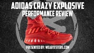 adidas Crazy Explosive Performance Review