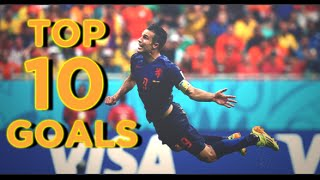 World Cup 2014 ● Top 10 Goals (HD)