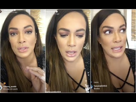 Xxx Mp4 Nia Jax Answering Questions From The Fans 3gp Sex