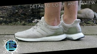 adidas Ultra Boost 3.0 'Pearl Grey' | Detailed Look and Review