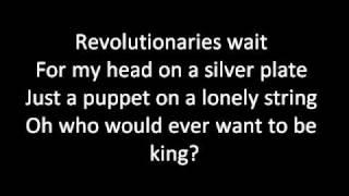 Viva La Vida Lyrics  Coldplay