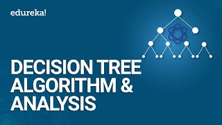 Decision Tree Algorithm & Analysis | Machine Learning Algorithm | Data Science Training | Edureka