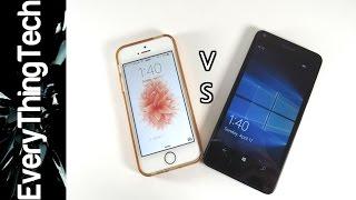iPhone SE vs Lumia 640 Comparison