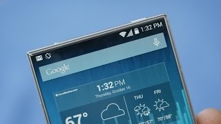 Sharp Aquos Crystal - Bezelless Smartphone!