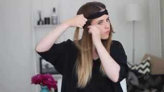 Maşa kullanmadan dalgalı saçlar nasıl yapılır?