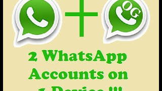 How to use 2 WhatsApp Accounts on the Same Phone | Dual SIM *no Root Required Easy Install