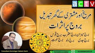 Mars & Jupiter Transit March 2019/Horoscope-P-2/ Vedic Astrology /Urdu/Hindi/ Saleem Sami Astrology