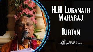 Lokanath Swami Maharaj's Evening Kirtan at iskcon vrindavan