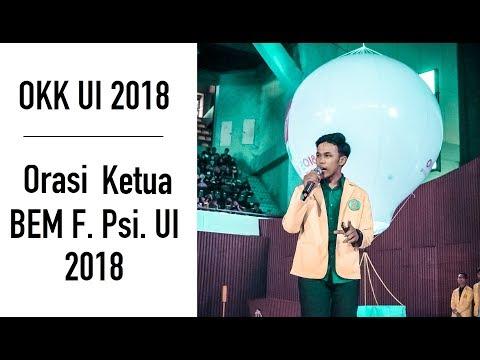Xxx Mp4 Orasi Ketua BEM Fakultas Psikologi UI OKK UI 2018 Selamat Datang Mahasiswa Baru UI 2018 3gp Sex