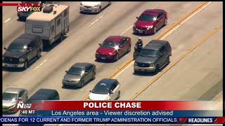 DOMESTIC ABUSE SUSPECT IN CUSTODY: Following police chase that started in Anaheim, ended in Venice