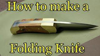 How to make a folding knife Template