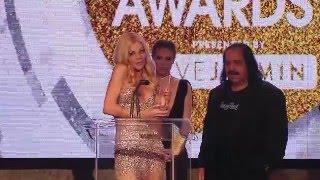 2016 XBIZ Awards - Riley Steele Wins 'Best Actress - Parody Release' Award
