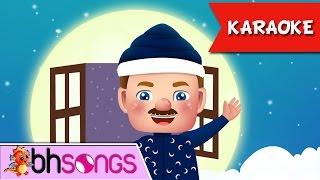 Nursery Rhymes   The Man In The Moon Song [Karaoke 4k Video]