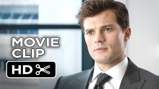 Fifty Shades of Grey Movie CLIP - The Interview (2015) - Dakota Johnson, Jamie Dornan Movie HD