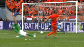 All Goals The Netherlands - Northern Ireland 6-0 (02-06-2012)
