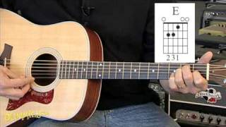 How to Play Basic Major Chords on a Guitar For Dummies