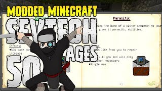 Minecraft SevTech: Ages | 50 | NEW OP TINKERS ARMORY! | Modded Minecraft 1.12.2