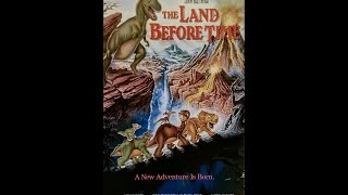 Opening and Closing to The Land Before Time 1989 VHS