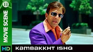 Needle in the hot dog | Kambakkht Ishq | Movie Scene