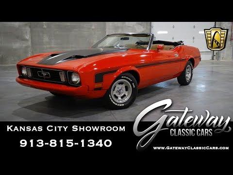 Xxx Mp4 1973 Ford Mustang Convertible Gateway Classic Cars Kansas City 0019 3gp Sex