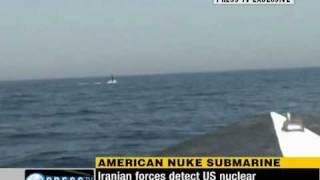 Iran intercept US nuclear submarine in Persian Gulf