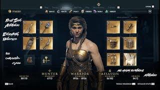 Assassins Creed Odyssey 100% Save File All Uplay Rewards Kassandra & Alexios