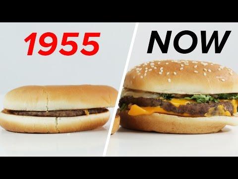 watch McDonald's: 1955 Vs. Now