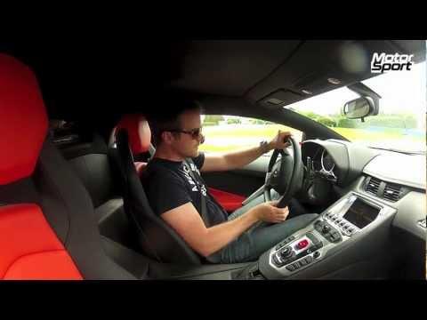 Lap Time Lamborghini Aventador LP700 4 Motorsport