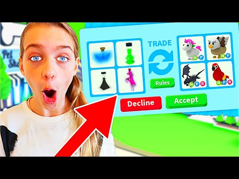 ONLY TRADING POTIONS IN ADOPT ME Roblox Gaming w The Norris Nuts