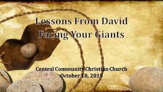 Lessons From David - Facing Your Giants