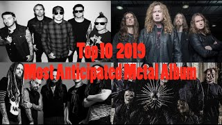 Top 10 Most Anticipated Metal Albums of 2019 + Giveaway!