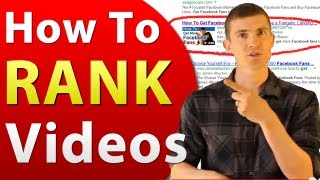 Download Video SEO - How To Rank Videos In Google and YouTube 3Gp Mp4