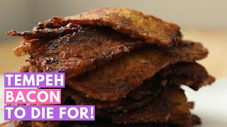 Tempeh bacon to die for!